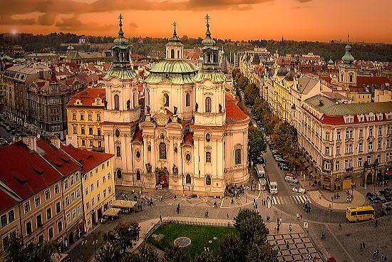 プラハの天気予報と週間天気予報